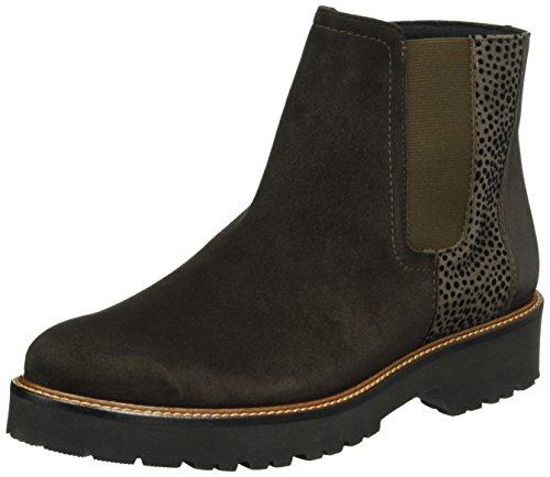 Semler Damen Elena-G½ Chelsea Boots, Braun (864 espresso-fango-cassis), 41 1/3 EU