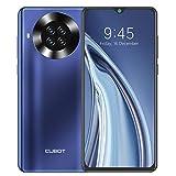 Handy ohne Vertrag, CUBOT Note 20 Pro Smartphone, 6.5 Zoll HD Bildschirm, 8GB RAM+128GB Speicher, 4200 mAh Akku, 4G Dual SIM, Android 10, 20MP AI Kamera (Blau)