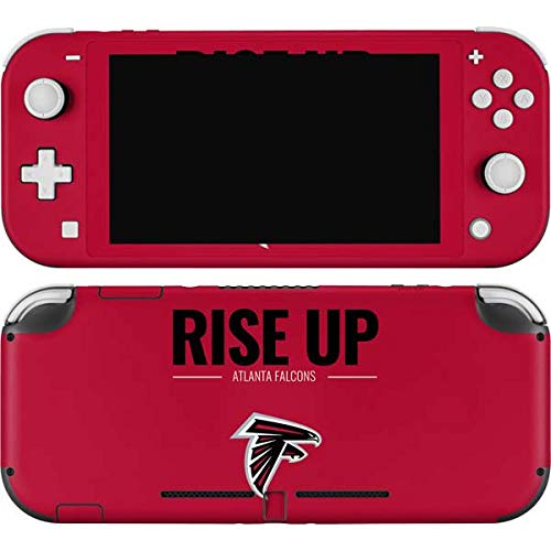 Skinit Decal Gaming Skin Compatible with Nintendo Switch Lite - Officially Licensed NFL Atlanta Falcons Team Motto Design