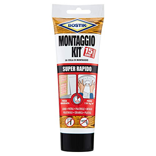 Bostik Montaggio Kit Super Rapido tubo 250gr