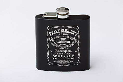 7 Edelstahl-Flachmann Jack Daniels JD No