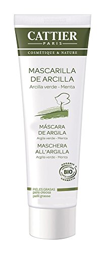Cattier Maschera in Tubo all'Argilla Verde e Menta - 100 ml