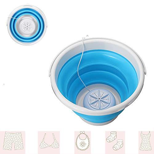 USB Laundry Huishoudelijke Mini Portable Turbo Wasmachine Opvouwbaar Type Bak Voor Het Wassen Kleine Kleren