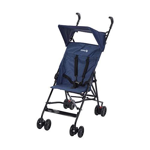 Safety 1st Peps Silla de Paseo ligera pesa solo 4,6 kg, plegable y compacta, Cochecito de viaje, con capota solar, color Blue Chic