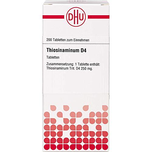 DHU Thiosinaminum D4 Tabletten, 200 St. Tabletten