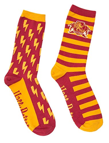 Out of Print Harry Potter Literary and Book Themed Unisex Socken - - Large