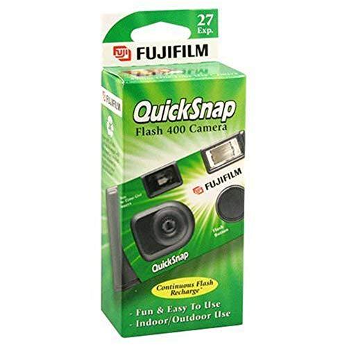 QuickSnap Flash 400 Disposable 35mm Camera 27 exposures