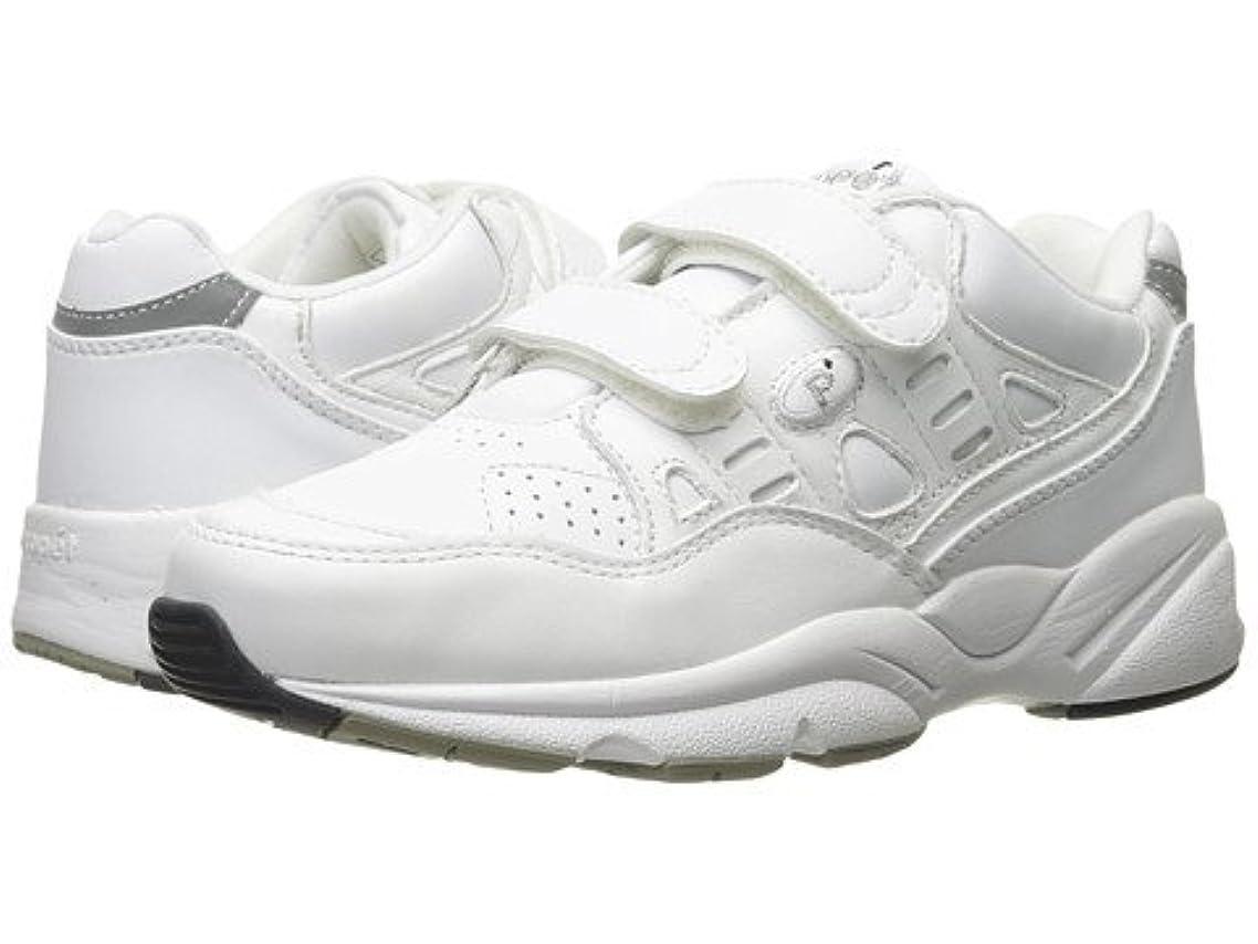 ドラゴンチューブこしょう(プロペット)Propet レディースウォーキングシューズ?カジュアルスニーカー?靴 Stability Walker Strap White 7 24cm XX (4E) [並行輸入品]