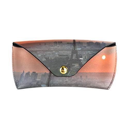 LENNEL Brillen Tasche Brillenetui Paris Druck Moderne Unisex Brillenetui Sonnenbrillen Box