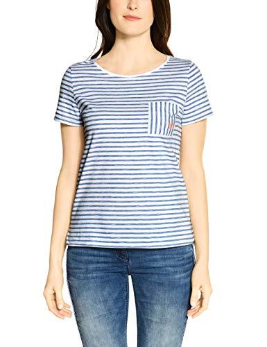 Cecil Damen 314699 T-Shirt, Pure Off White, XL