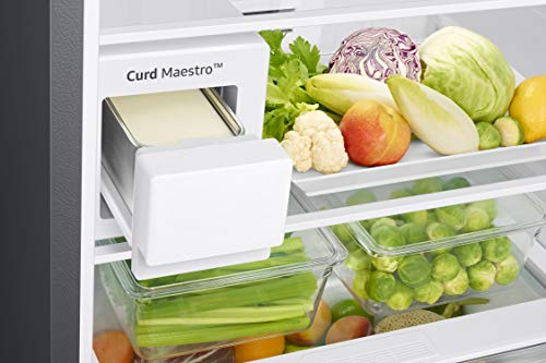 Samsung 386 L 3 Star Inverter Frost-Free Double Door Refrigerator (RT39T5C3EDX/TL, Luxe Brown) 5