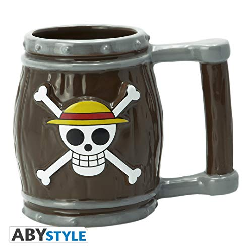 ABYstyle - One Piece - Tazza 3D - 350 ml - Barile