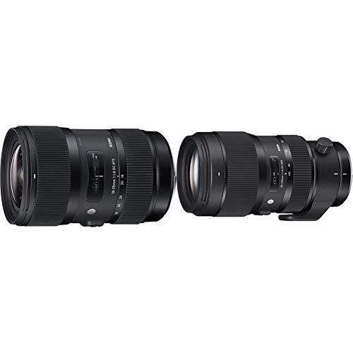 セット買いSIGMA 18-35mm F1.8 DC HSM   Art A013   Canon EF-Sマウント   APS-C Super35 & 50-100mm F1.8 DC HSM   Art A016   Canon EF-Sマウント   APS-C Super35