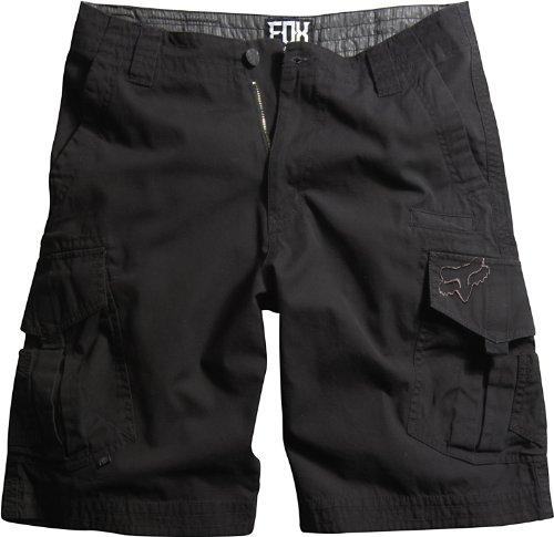 Fox Slambozo Cargo-Shorts für Jungen (kleine Kinder/große Kinder), Schwarz, Größe 25