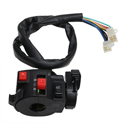 JCMOTO Kill Light Starter Choke Switch For 150cc 200 250 300CC Quad ATV TAOTAO Roketa