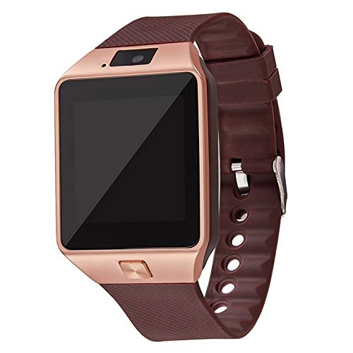 Find Bargain ZKSBDM Watch Bluetooth Smart Watch Wearable Wrist Phone Watch 2g Sim Tf Card for Androi...