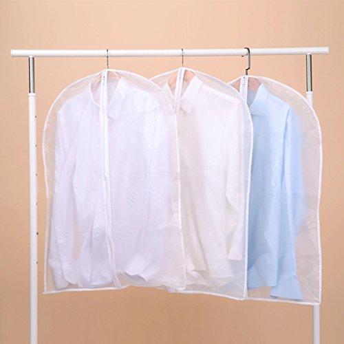 JINTINADEBIAOXIAN Kleidung dust Cover Mantel, Anzug, kondom. dust Bag Kleidung lagerung Bag h?ngende Taschen transparente Dicke Kleidung Abdeckung-A 100x60cm(39x24inch)