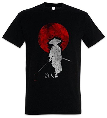 Urban Backwoods Ronin I Herren T-Shirt Schwarz Größe 3XL