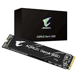 Gigabyte AORUS NVMe Gen4 M.2 1TB PCI-Express 4.0 Interface High Performance Gaming, 3D TLC NAND, External DDR Cache Buffer, SSD GP-AG41TB (B08FCY3BM2) | Amazon price tracker / tracking, Amazon price history charts, Amazon price watches, Amazon price drop alerts