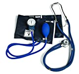Graham-Field Lumiscope Professional Blood Pressure and Stethoscope Kit, Dark Blue, 100-040DB