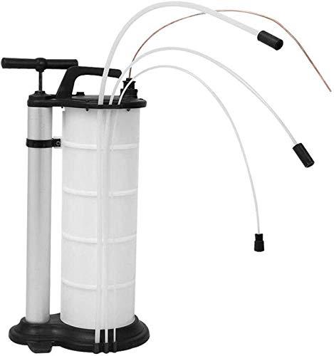 Kaibrite Extracteur D'huile 9 litres Pompe Manuel Pompe à Huile d'aspiration Transfert de Fluide Equipé à Pompe D'extraction + 3 Tubes