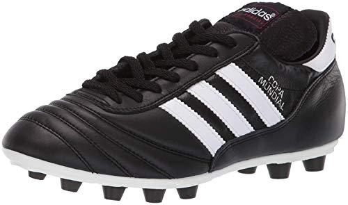 adidas mens Copa Mundial Soccer Shoe, Schwarz/White/Black, 10.5 US