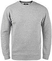 Indicode Bronn Herren Sweatshirt Pullover Pulli mit Rundhalsausschnitt