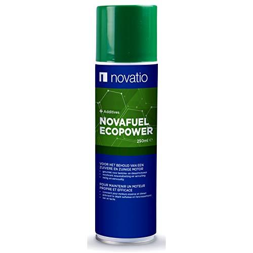 Novatio Aditivo Combustible Diésel y Gasolina - Cuidado del Motor Limpiador inyectores Reduce el Nivel de Humos Reduce el Consumo de Combustible Ideal Pasar ITV