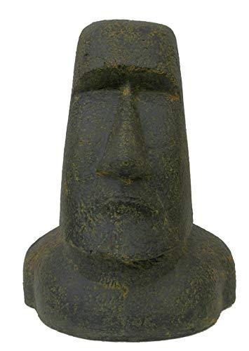 STONE art & more Moai, Osterinsel-Kopf, 40 cm, Steinfigur, Steinguss, frostfest