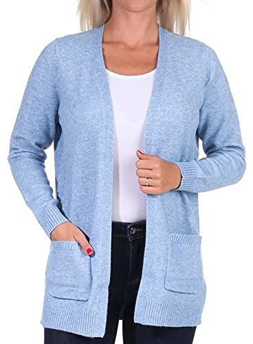 Only ONLLESLY L/S Open Cardigan KNT Noos Suter crdigan, Allure, L para Mujer