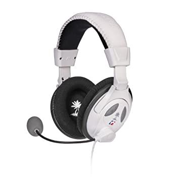 Turtle Beach - Ear Force PX22- Universal Amplified Gaming Headset - PS3 Xbox 360 - White