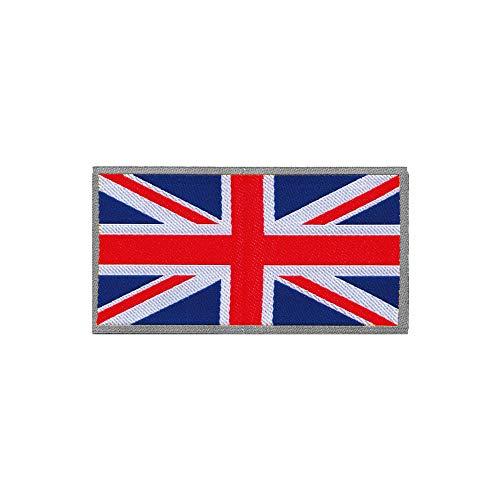 Quattroerre 14504 patch sticker vlag Engels voor textiel