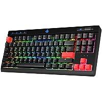Stoga MK17 RGB LED Backlit USB-C Wired Mechanical Gaming Keyboard