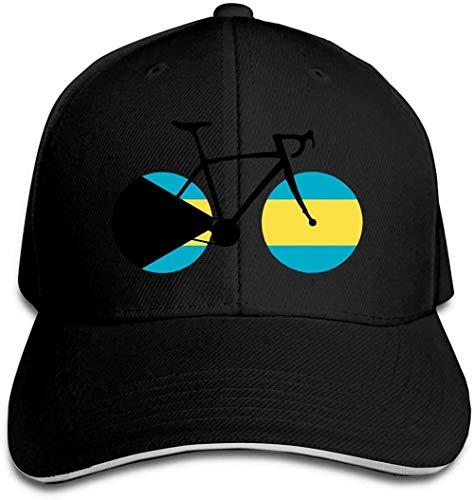 ZYZYY - Berretto da baseball unisex, con bandiera delle Bahamas, regolabile, con visiera