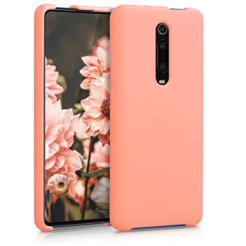 kwmobile Funda Compatible con Xiaomi Mi 9T (Pro) / Redmi K20 (Pro) - Carcasa de TPU para móvil - Cover Trasero en Coral Mate