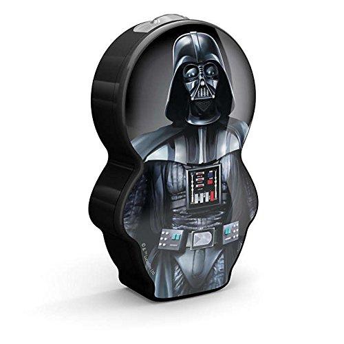 Philips Star Wars Darth Vader - Linterna LED, luz blanca fría, bombilla de 0.3 W, color negro