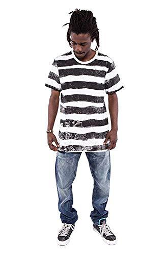 Iron Fist - Camiseta - Rayas - Cuello redondo - para hombre