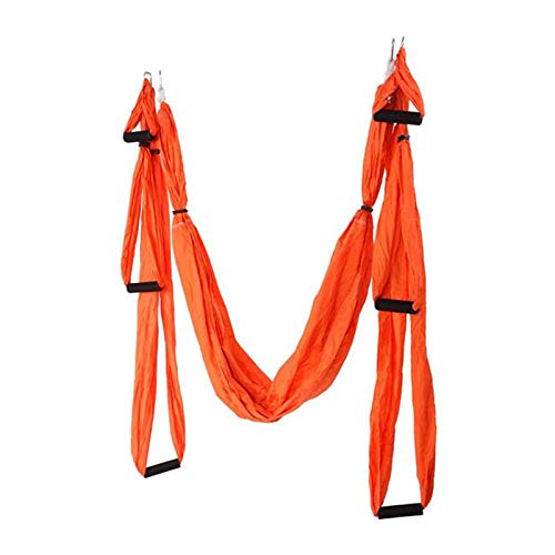 Review qwepoi Aerial Yoga Swing,Anti-Gravity Aerial Yoga Hammock,Yoga Trapeze Home Workout Kit,for S...