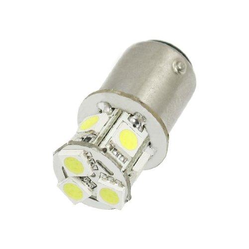 SODIAL(R) Voiture 2057 2357 2396 BAY15D 5050 SMD 8 LED Blanc frein arret Phare arriere Ampoule 12V
