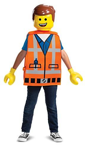 LEGO DISK26812CH Disfraz para niños, Emmet Basic, talla única