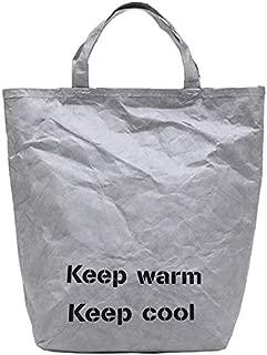 TOOGOO Women Handbag Shoulder Bag Tyvek Messenger Bag Kraft Paper Ladies Large Capacity Crossbody Fashion Handbags Brown