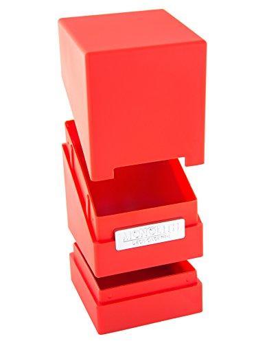 Ultimate Guard Taille Standard 100 Plus Monolith Deck Étui (Rouge)
