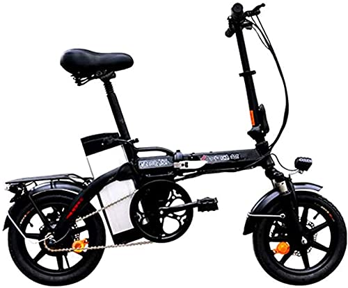 Bicicleta electrica Bicicleta eléctrica para adultos 14 en bicicleta eléctrica plegable con...