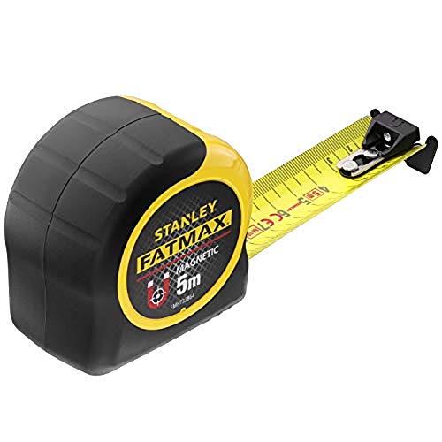 Stanley Cinta métrica FatMax Blade Armor con Gancho magnético, 5 m, FMHT0-33864