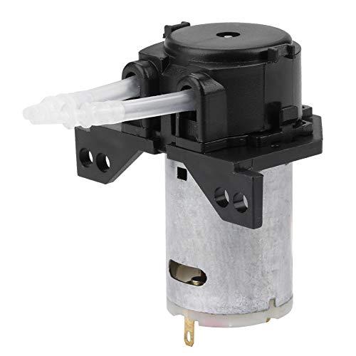 Yunnyp Mini hydraulische pomp industrie doseerpomp peristalkop, (nero 12V 2 * 4), (nero 12V 2 * 4), 1