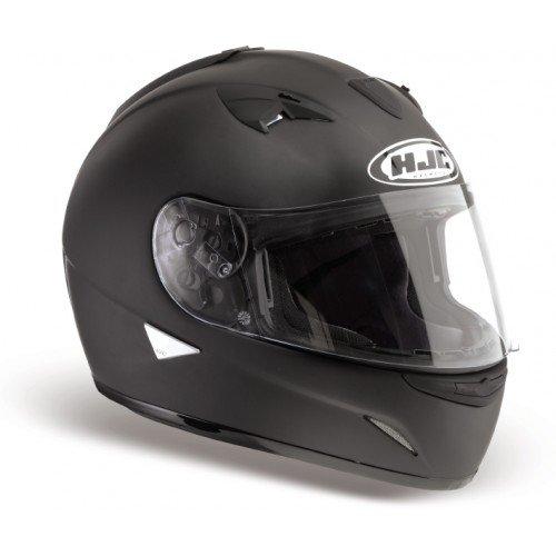 Casque moto HJC TR1 NOIR MAT, Noir, M