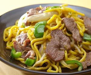 【北海道のお肉】ジンギスカン 焼きそば 3食セット【産地肉の山本】