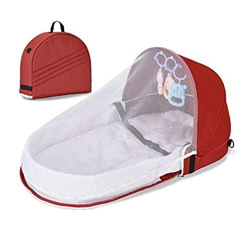SaySure Portátil de viaje nido de bebé multifunción cuna con mosquitero plegable Babynest cuna bebé sueño infantil cama de los niños