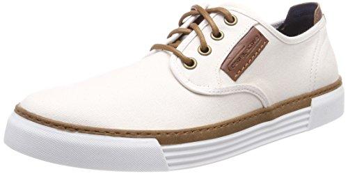 camel active Herren Racket 14 Sneaker, Weiß (Off-White), 44 EU