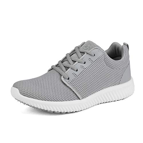 DREAM PAIRS Women's Grey Running Shoes Comfort Sneakers W170389 Size 10 M US